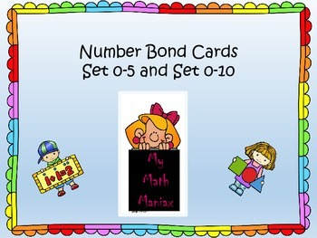 Number Bond Cards 5s and 10s