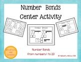 Number Bond Math Center CCSS Compatible