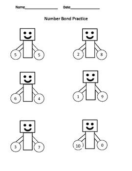 Number Bond Robots