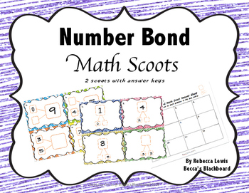 Number Bond Scoots
