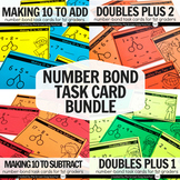Number Bond Task Card Bundle: Make 10 to Add/Subtract, Dou