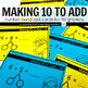 Number Bond Task Card Bundle: Make 10 to Add/Subtract, Dou