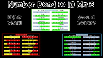 Number Bond to 10 Mat - Highly Visual