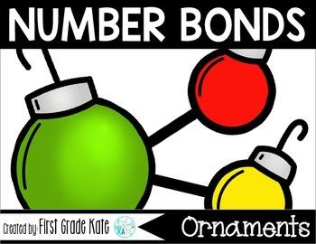Number Bond Part Part Whole Task Cards Christmas Ornaments