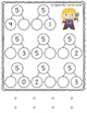 Number Bonds 5-10 Match and Fill In: Super Heroes Themed