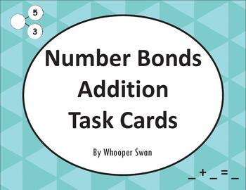 Number Bonds: Addition Task Cards