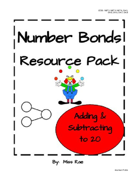 Number Bonds Addition & Subtraction to 20 Resource Pack *