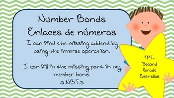 Number Bonds Finding the missing part