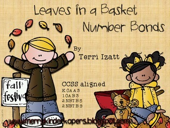 Number Bonds:  Leaf Pile