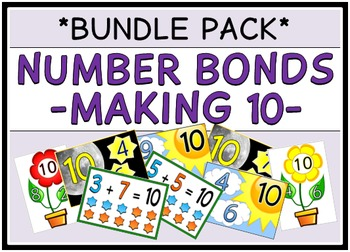 Number Bonds - Making 10 (BUNDLE PACK)