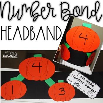 Number Bonds/ Math Mountains Pumpkin Headband