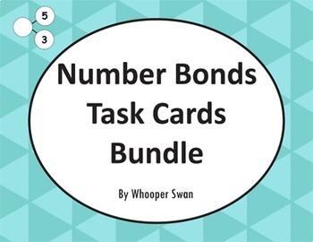 Number Bonds Task Cards Bundle