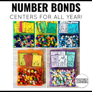 Number Bonds Through the Year!