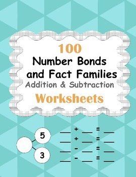 Number Bonds and Fact Families: Addition and Subtraction F