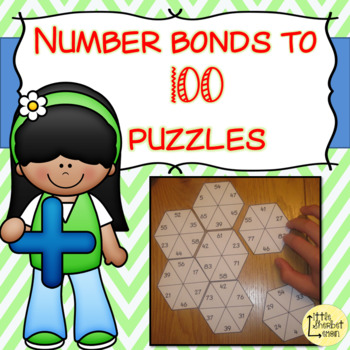 Number Bonds to 100 puzzles