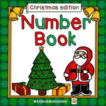 Number Book 1-5-Christmas Edition