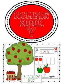 Count to Ten Number Book Apples-CCA