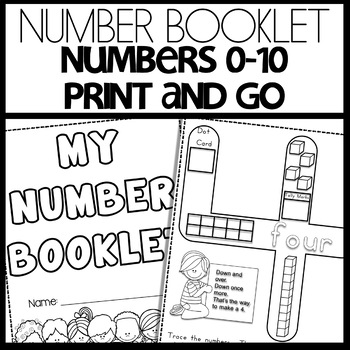 Number Booklet (0-10 Review)