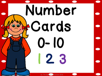 Number Cards: 0-10