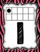 Number Cards 0-10 - Pink Zebra