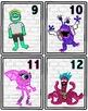 Monster Number Cards