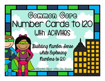 Number Cards to 120 with Activities