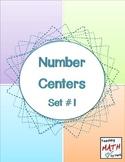 Number Centers - Set #1