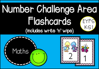 Number Challenge Area Flashcards
