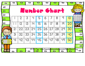 Number Chart - Free