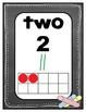 Number Charts: 0-20 Chalkboard
