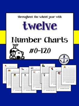 Number Charts Throughout the Year