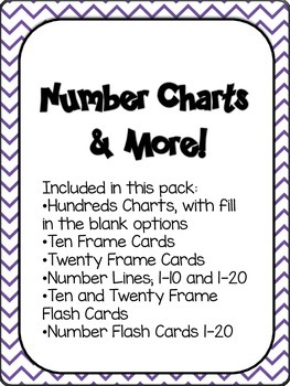 Number Charts and More!