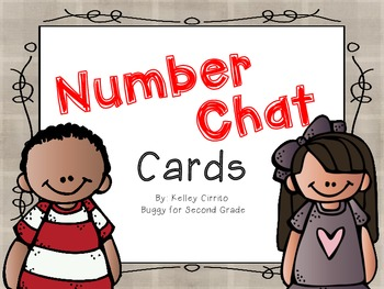 Number Chat Cards