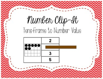 Number Clip It 1-20