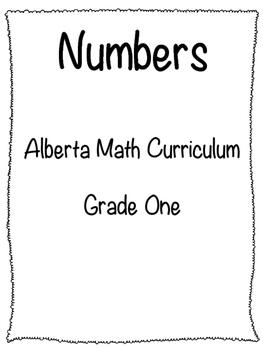 Number Concepts - Alberta Math Curriculum