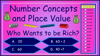 Number Concepts and Basic Place Value Power Point Milliona