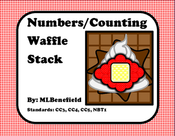Number/Counting Waffle Stack