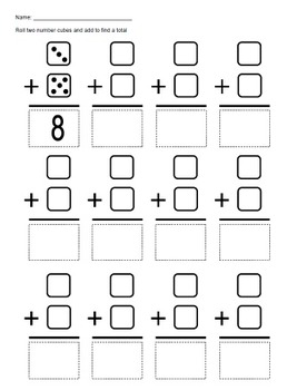 Number Cube Math