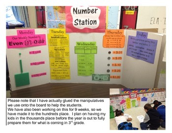 Number Depot: Weekly center focused on many elements of pl
