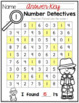 Number Detectives {Printable 0-9 Number Searches}