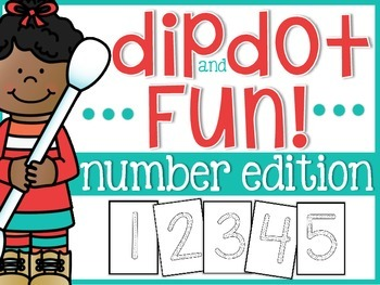 Number Dip and Dot!