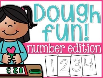 Number Dough Fun Mats!