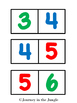 Number Dominoes 0-10 and 0-20