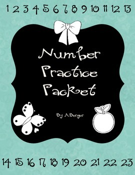 Number Extra Practice Packet