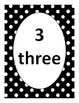 Number Flashcards 1-20