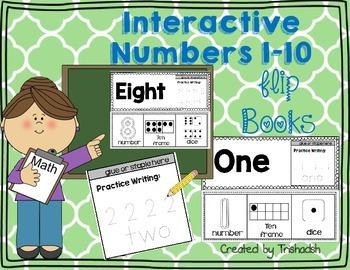 Number Flip Books 1-10
