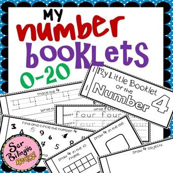 Number Flip-books 0-20