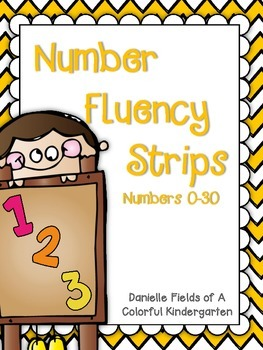 Number Fluency Strips