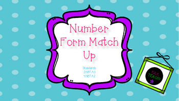 Number Form Match and Sort (Word and Expanded Form)
