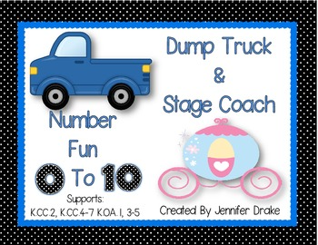 Number Fun 0-10 ~Dump Trucks & Stage Coaches~ Many Uses PL